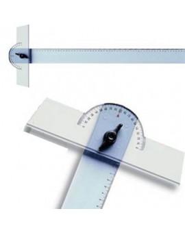 Arda plastic T-lat met verstelbare kop - 70 cm
