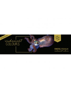 Finetec Premium Iridescent, aquarelverf set van 6 kleuren
