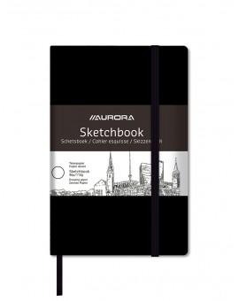 Aurora schetsboek 48 vel 110gr/m² - ingebonden aan de lange zijde