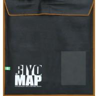Biyomap 125x125cm (bruin)