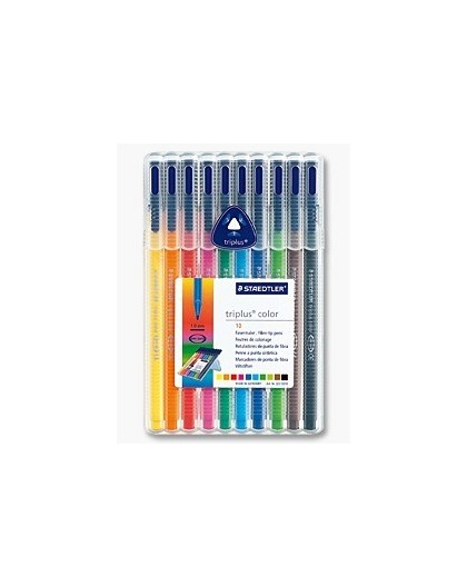 Staedtler Triplus Color - set 10 viltstiften