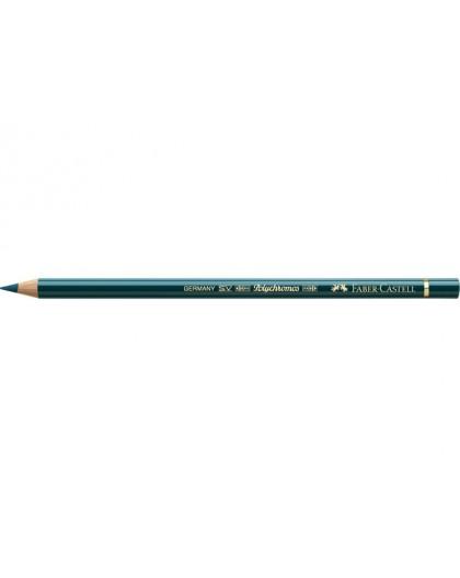 kleurpotlood Polychromos 158 - deep cobalt green