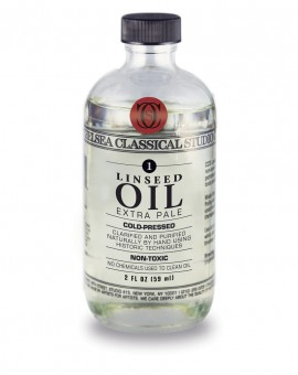 Chelsea Classical Extra-Pale Cold-Pressed Linseed Oil