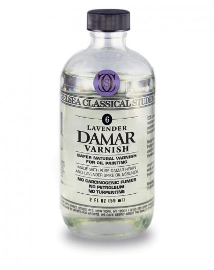 Chelsea Classical Lavender Damar Varnish