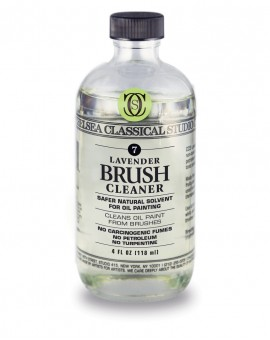 Chelsea Classical Lavender Brush Cleaner