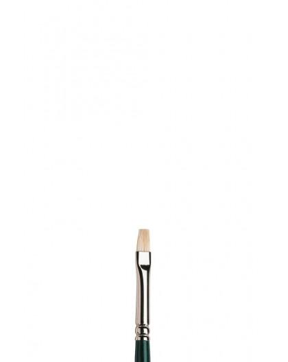 Winton kort plat penseel met lange steel nr 1
