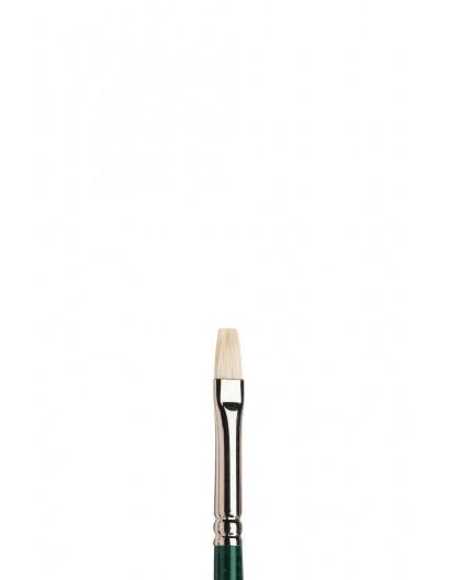 Winton kort plat penseel met lange steel nr 3