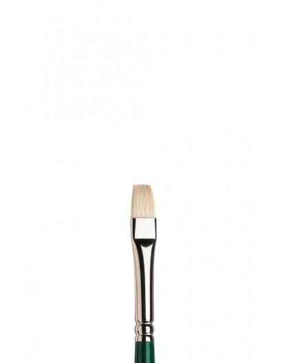 Winton kort plat penseel met lange steel nr 4