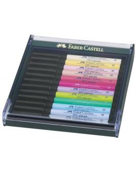 Faber-Castell Pitt Artist Brushpen - set pastelkleuren