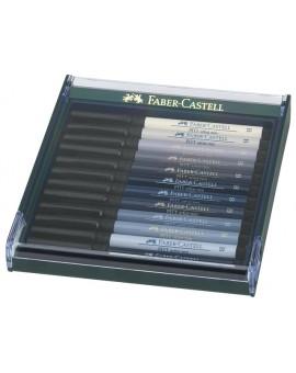 Faber-Castell Pitt Artist Brushpen - set grijstinten