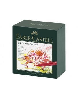 Faber-Castell Pitt Artist Brushpen - studiobox 48