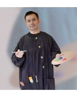 Peacock schilderschort - model Corot voor mannen