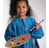 Peacock schilderschort - model Corot voor kinderen
