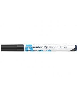 Schneider Acryl Marker Paint-it 2mm - zwart