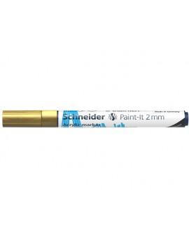 Schneider Acryl Marker Paint-it 2mm - goud