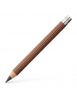 set van 3 reservepotloden voor Perfect Pencil Magnum bruin