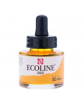 Ecoline 30ml - donkergeel