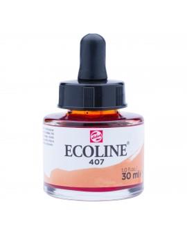 Ecoline 30ml - donkere oker