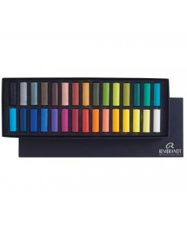 Rembrandt softpastel set halve pastels