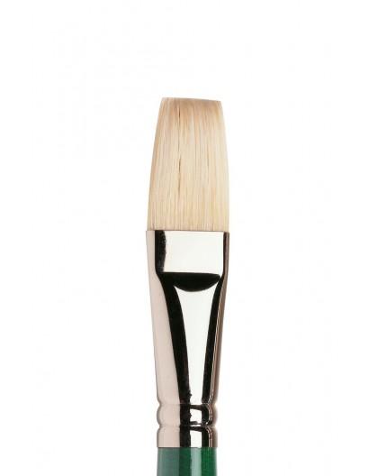 Winton lang plat penseel met lange steel nr 12