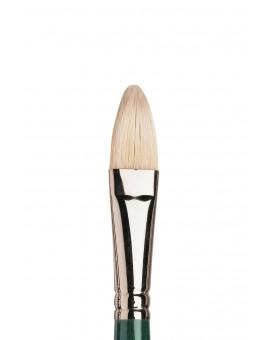 Winton kattentong nr 10 - varkensharen penseel met lange steel