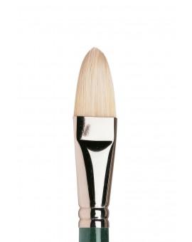 Winton kattentong nr 12 - varkensharen penseel met lange steel