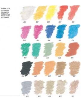 Wit (iriserend) 801 - Sennelier Pastel à l'écu
