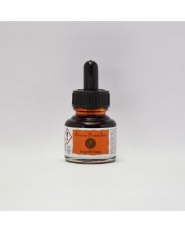 Oranje 641 - Sennelier schellak inkt 30ml