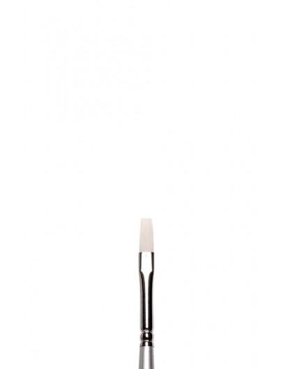 Artisan lang plat penseel met lange steel nr 2