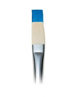 Artisan lang plat penseel met lange steel nr 4