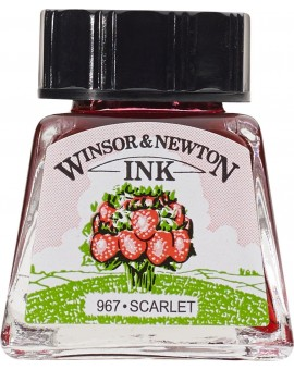 W&N Drawing ink 14ml - Scarlet