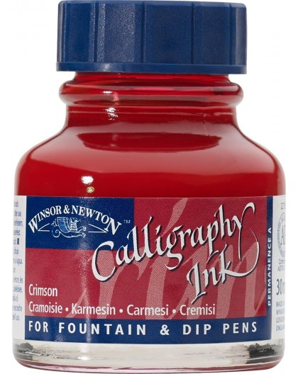 W&N Calligraphy ink 30ml - Crimson