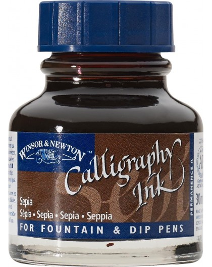 W&N Calligraphy ink 30ml - Sepia