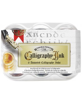 W&N Calligraphy ink assortiment 6x30ml