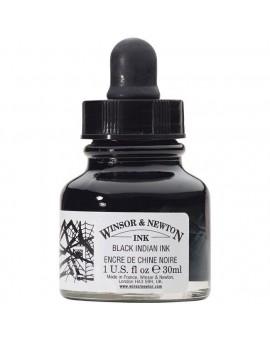 W&N Oostindische Inkt - pipetflesje 30ml