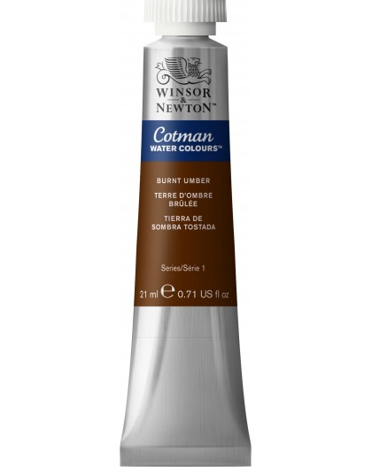 Cotman Burnt Umber - tube 21ml